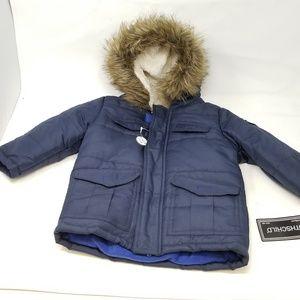 Rothschild Infant & Toddler Boys Blue Puffer Coat